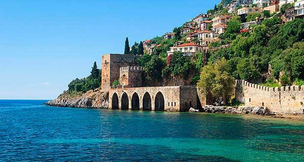 Туры и отдых 2021 из Москвы (Турция, Сочи, Куба, Мальдивы...) - europe turkey alanya beach sea piratesru turs sale 1