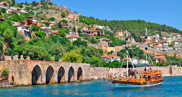 Туры и отдых 2021 из Москвы (Турция, Сочи, Куба, Мальдивы...) - europe turkey alanya beach sea piratesru turs sale 3