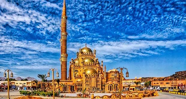 Горящие туры из Москвы, Спб и Регионов 2021 ✈ Turs.sale - arab egypt ssh sharm sheikh city mosque 1
